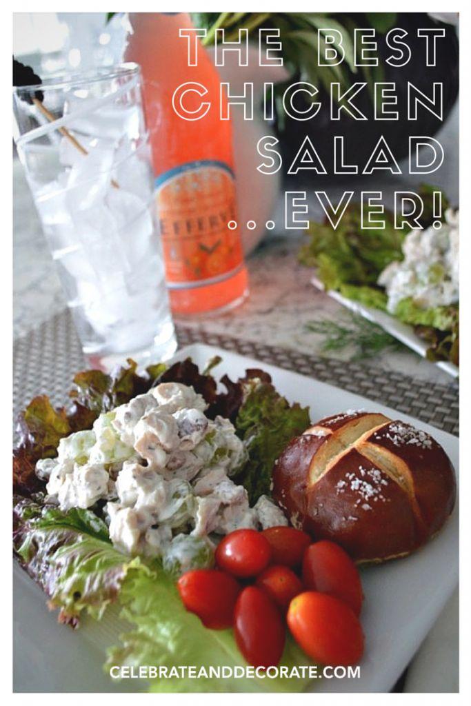 The Best Chicken Salad Recipe! - Celebrate