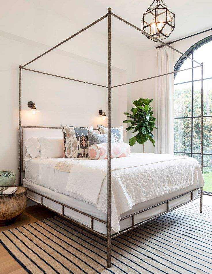 Currently Crushing On: Metal Canopy Beds