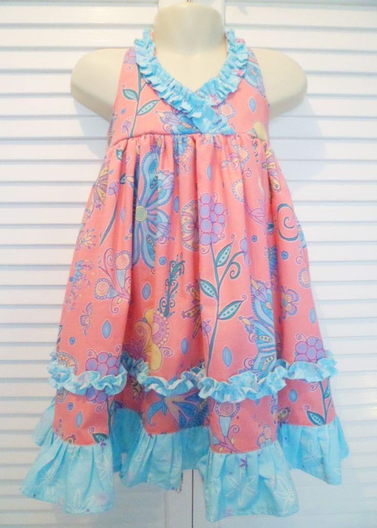 Gracie Dress  Pattern from FemiKidsCouture