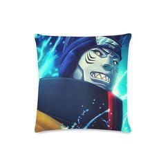 Naruto Shippuden Kisame Akatsuki Member Portrait 3D Wallpaper Pillow