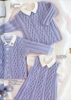 Anny blatt aran cardigan dress sweater