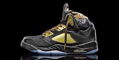 "EffortlesslyFly.com - Kicks x Clothes x Photos x FLY Sh*t: Custom Kicks: Air Jordan 5 Retro ""Versace-Inspired..."