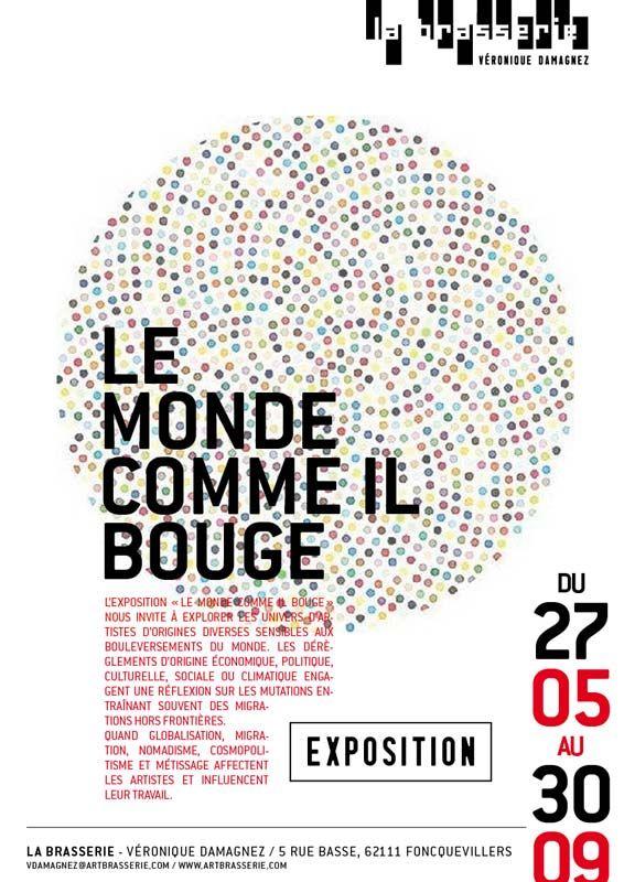 Projet d'affiche expo 2012