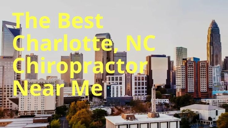 Pin on Charlotte Chiropractic Services