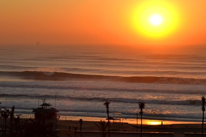 I grew up a failed surfer. Had the blonde hair but not the balance. But seeing Durban's surf reminded me why I loved the sport.