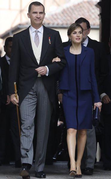 Spanish Royals attend 2016 Cervantes Awards Ceremony