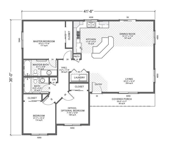 54 best images about home plans on pinterest house plans for Accessory dwelling unit floor plans
