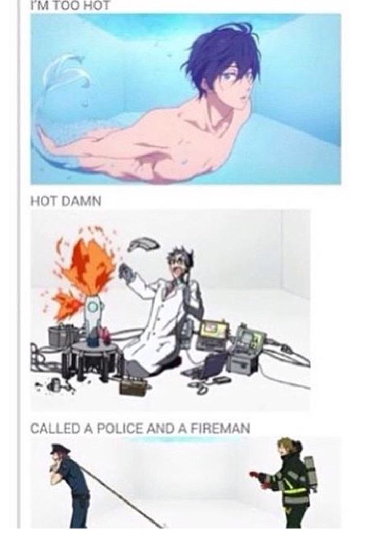*cough cough* Rin is hotter *cough* oh I'm sorry what? No I didn't say anything...