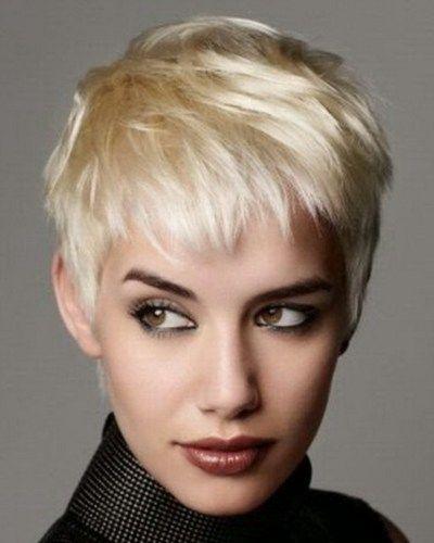 Blond kort haar voor winter