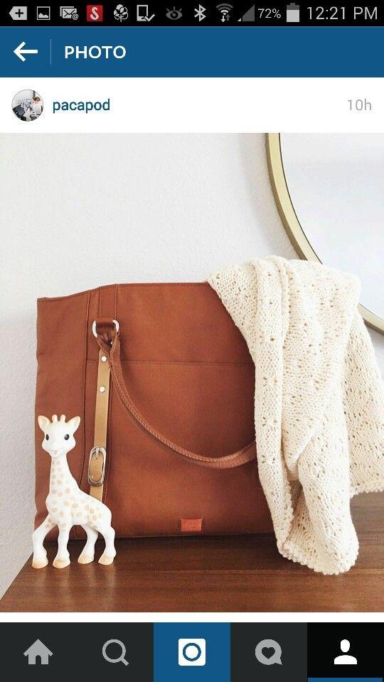 Nappy bag?