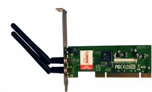 LCS-8031N1 - 300 Mbps Wireless PCI Card, 802.11b/g €12.20