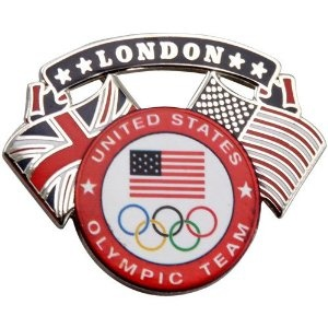 2012 London Olympics - United States Olympic Team pin