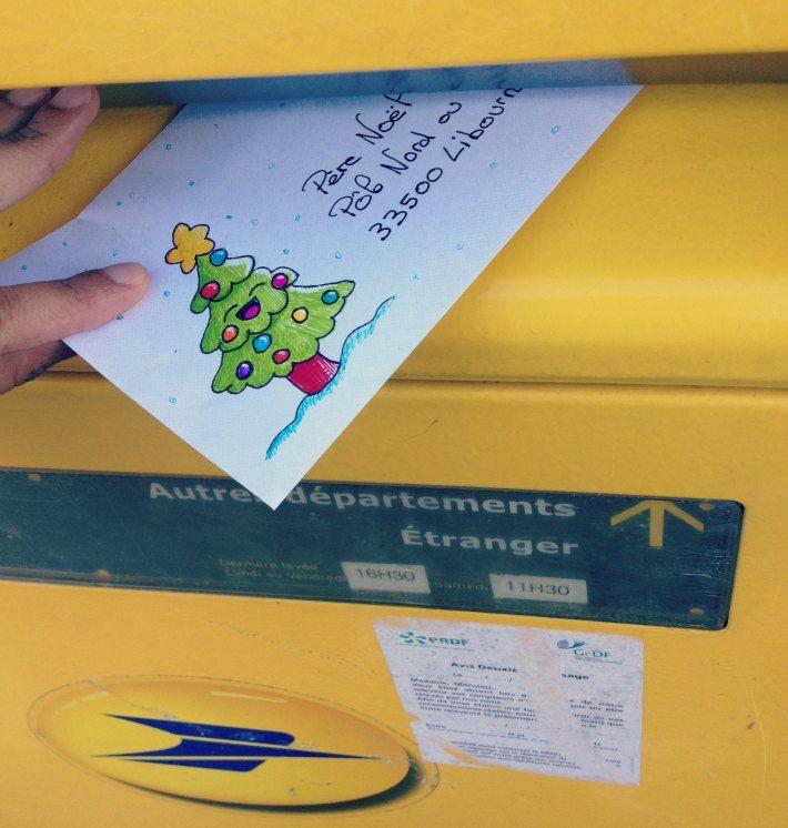 Comment envoyer une lettre au père Noël