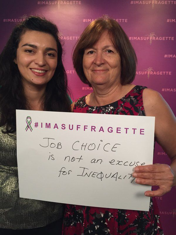 #Imasuffragette because job choice is not an excuse for inequality #suffragette https://t.co/FtPtqU7Yts