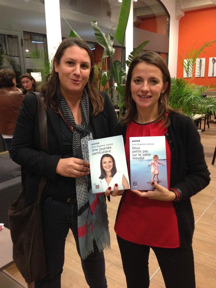 Anne-Dauphine Julliand (et Charlotte de la Loupe) à Lyon en novembre 2013
