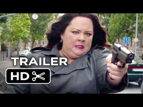 "Spy Official Trailer #1 (2015) - Melissa McCarthy, Rose Byrne Comedy HD - YouTube """