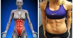 Seque a barriga em menos de um mês fazendo apenas este incrível exercício