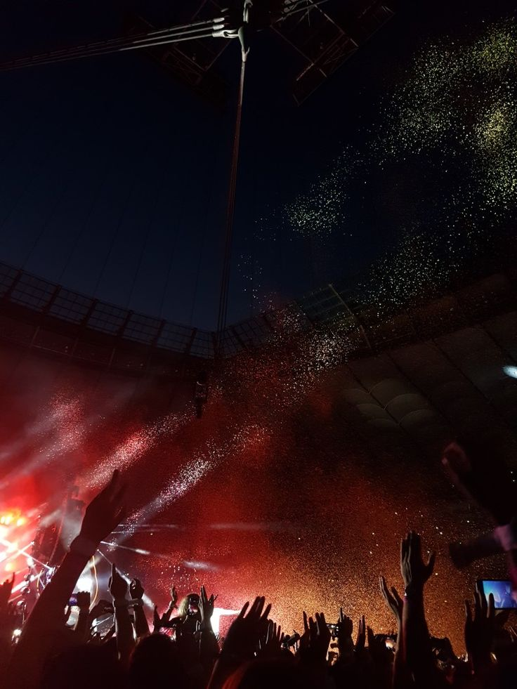 Coldplay, concert in Warsaw, Poland