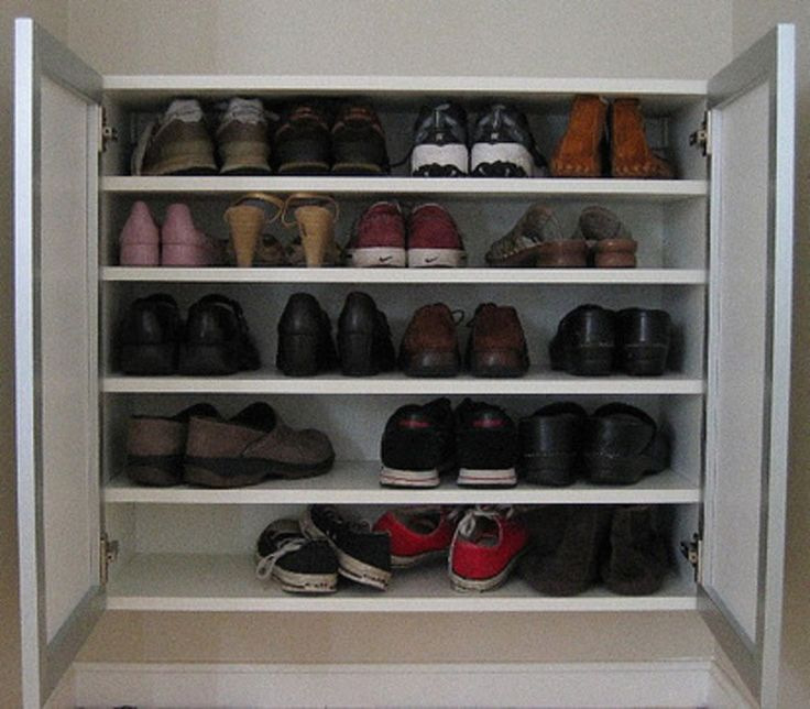 Shoe Organization Hacks: 75 Best Shoe Storage Solutions Images On Pinterest