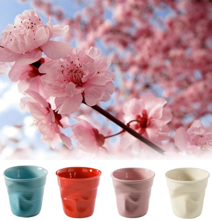 Revol Espresso cups - in Spring colours!