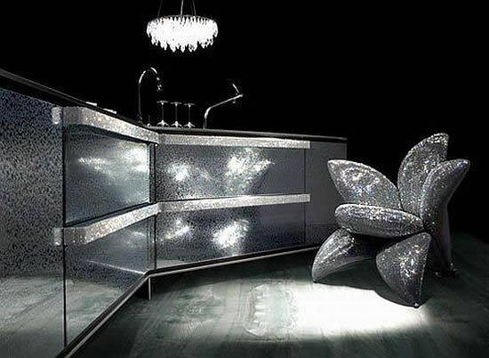 Bling countertop and sink