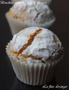 Pour la fête de l'Eid, je vous propose ces petits gâteaux succulents. très rapid et facile avec un goût prononcé d'amande et noix de coco ! Excquis ! La recette : 250 g amande entières mixées 250 g noix de coco 4 oeufs 200g sucre semoule 1 sachet de sucre...