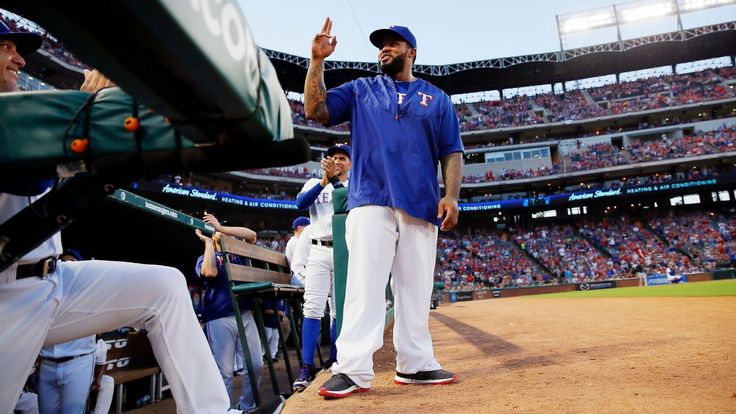Prince Fielder back in Texas Rangers' dugout after career-ending surgery