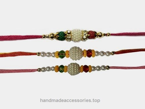 Set of Three Rakhi, Rakhi, Raksha Bandhan Gift for your Brother, Check It Out Now     $45.99    This is Beautiful Designer Set of 3 Rakhi. Its handmade rakhi by Indian homeworker These rakhi's are more attractive  ..  http://www.handmadeaccessories.top/2017/03/27/set-of-three-rakhi-rakhi-raksha-bandhan-gift-for-your-brother/