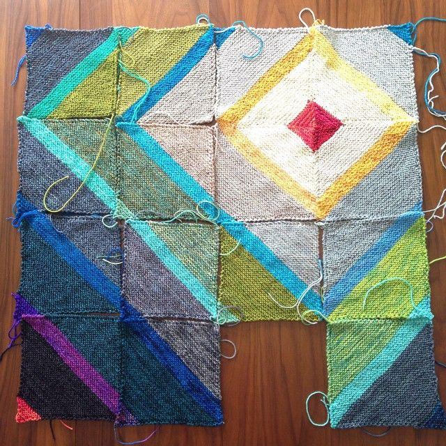 Fly Away blanket progress — Tanis Fiber Arts