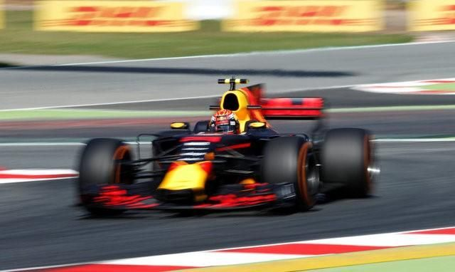 By Alan Baldwin             | BARCELONA  		 BARCELONA Red Bull were behind world champions Mercedes and Ferrari on the practice timesheets at the Spanish Grand Prix on Friday but hopeful the gap to the Italians might at least be narrowing.