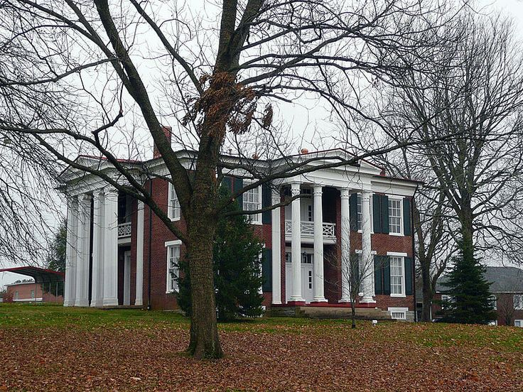 Ferguson Hall, Spring Hill, Tennessee, was built by Dr. John Haddox, one of the early physicians. Dr. Haddox sold the property to Martin Cheairs about 1854. In 1863, after the Battle of Murfreesboro, Gen. Earl Van Dorn brought his troops to Spring Hill, & chose the home as his headquarters. It was rumored that he was carrying on an affair with the wife of Dr. George B. Peters, a local physician... Gen. Van Dorn lay dead on the floor & Dr. Peters had fled the area. It was ruled justifiable…