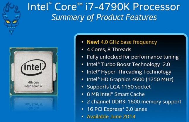 Intel Core i7-4790 3.6GHz Quad-Core Processor - Google Search