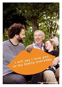 I will say I love you to my family everyday @BupaAustralia #health #pledge #family #familylove #love #iloveyou