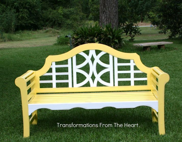 Painted Wood Patio Furniture 38 best benches images on pinterest | painted benches, painted
