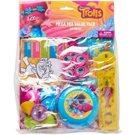 Buy Trolls Party Favor Pack, Value Pack, Party Supplies at Walmart.com