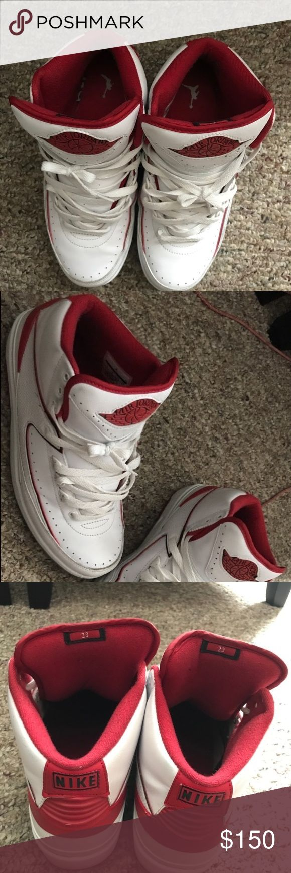 Jordan Retro 2 Worn only 3 time, in great condition Jordan Shoes Sneakers