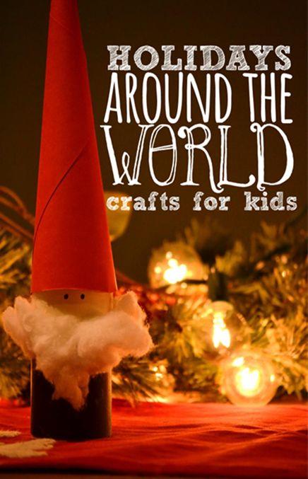 Holidays Around the World crafts for kids