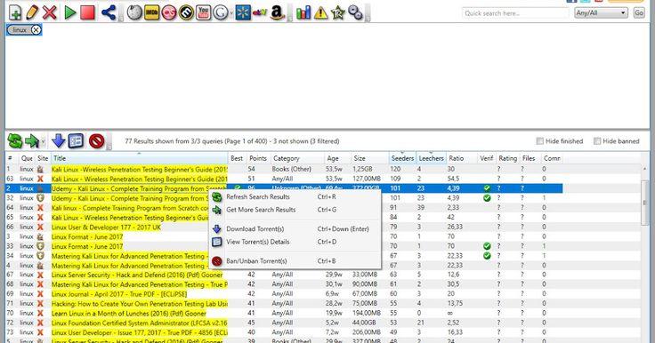 Το TorrentRover είναι ένα πρόγραμμα λήψης torrent διαχειριστής αναζήτησης που σας βοηθά να κατεβάσετε τις αγαπημένες σας εφαρμογές και πολλά άλλα. Με λίγα λόγια μπορείτε να αναζητήσετε να διαχειριστείτε και να κατεβάσετε αρχεία torrent απευθείας από την επιφάνεια εργασίας σας. Διαθέτει πολλά μοναδικά χαρακτηριστικά που το καθιστούν ανώτερο από άλλες εφαρμογές αναζήτησης επιφάνειας εργασίας. Με καθαρό και απλό περιβάλλον εργασίας χρήστηγρήγορες αναζητήσεις απλή λίστα αποτελεσμάτων (η…