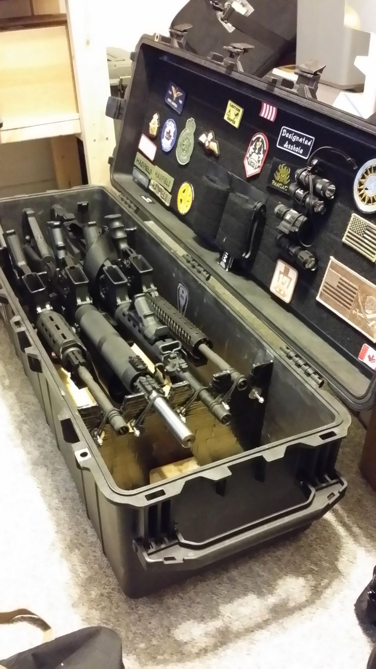 Tired of not having a decent organizer in your rifle case? Well, there is a fairly simple fix that could be as cheap as $60. When I purchased my Pelican 17