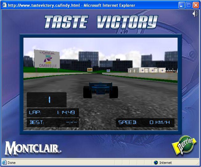 """#NestleWaters #Perrier """"Taste Victory"""" Online Racing Game"""