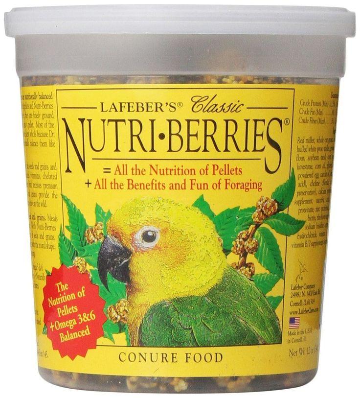 Lafeber Company Nutri-Berries Conure Pet Food, 12-Ounce