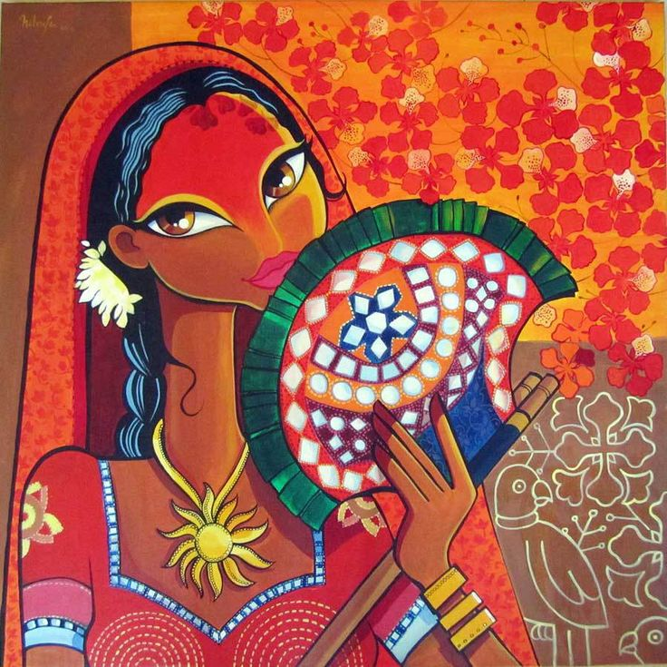 Niloufer Wadia Artwork Title: Heat. Contemporary artist Contemporary Painter, Artist from Pune 411001 India. Free Artist Portfolio Website - absolutearts.com