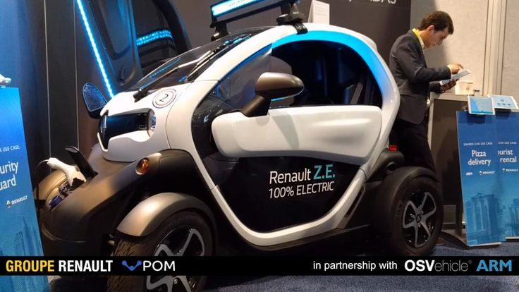 CES 2017 Renault POM with OSVehicle & ARM