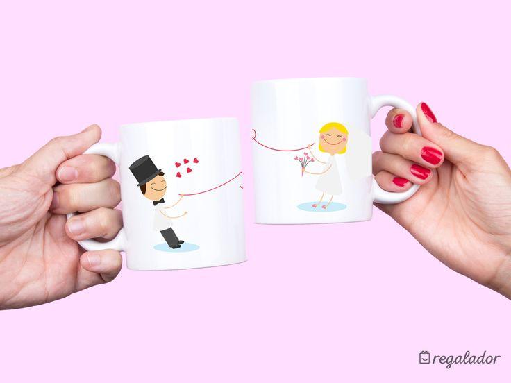 Regalos para bodas y parejas de novios que se van a vivir juntos Con una selección de productos muy cuidada, escapadas y experiencias Spa a su elección Kits para celebrar con ellos su vida en común. Tazas originales, Tazas personalizadas, tazas bonitas, tazas románticas, regalos románticos, regalos san valentín, regalos de boda