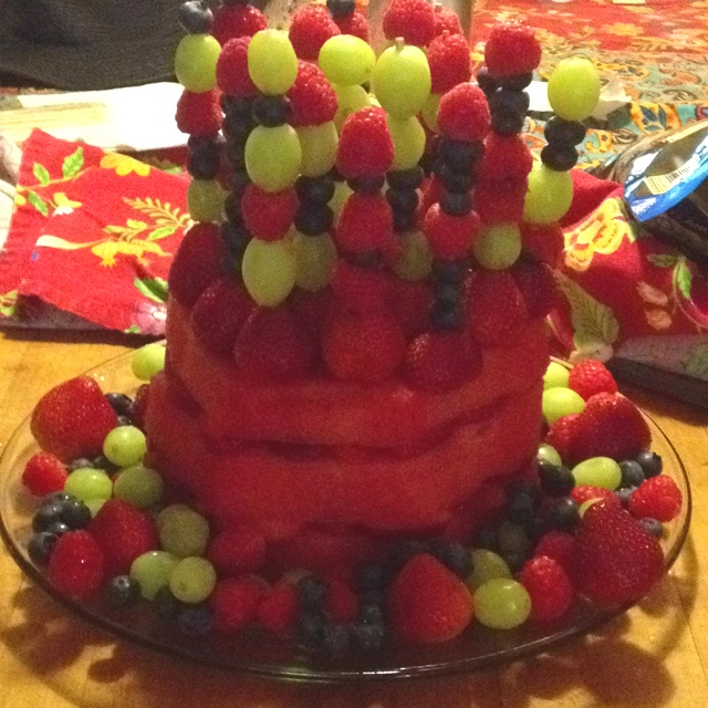 162 best fruit cake images on Pinterest Carved watermelon Fruit