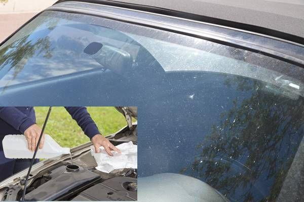 1 perc alatt csillogóvá varázsolja a bogaras autó szélvédőjét ez a házi, filléres szélvédőmosó! - Tudasfaja.com