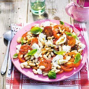 Recept - Salade met paprika en tomaat - Allerhande