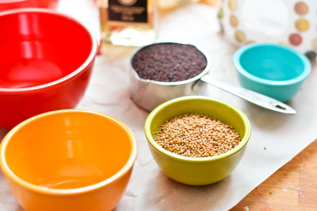 Home Made Whole Grain Mustard | by Sonia! The Healthy Foodie