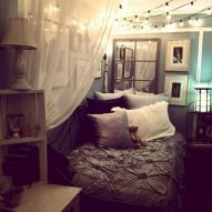 Cute diy hipster bedroom decorations ideas (22)