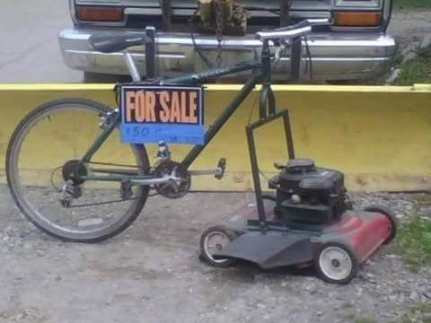 Riding mower for Sale - $10.